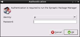 Raspberry pi Synaptic-6
