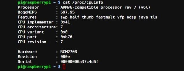 Raspberry Pi System Info-1