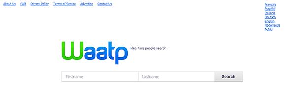 Поиск людей в сети интернет